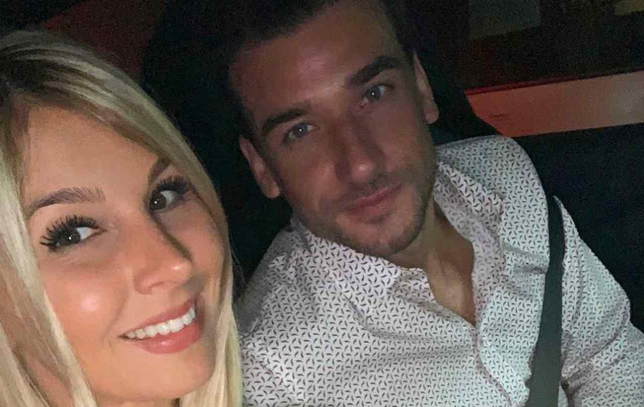 Damiano Carrara e fidanzata