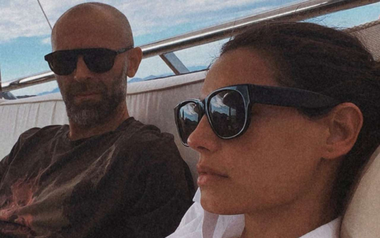 Stefano Rosso e Francesca Chillemi