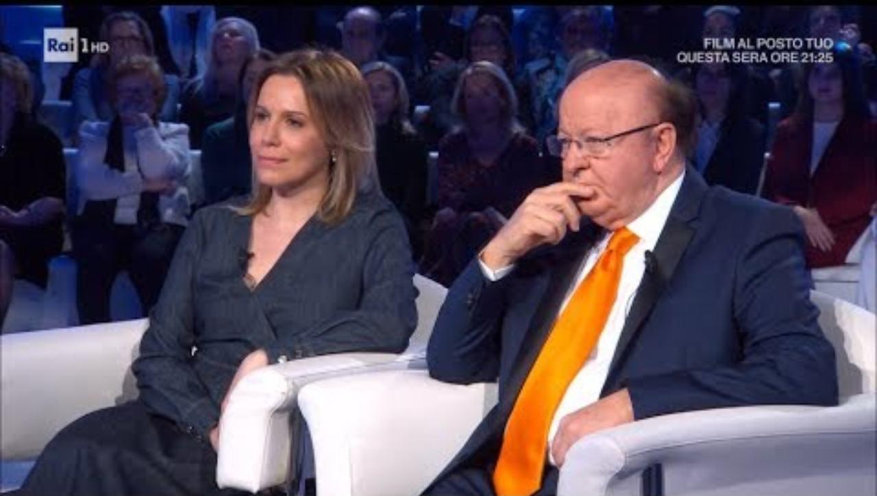 Massimo Boldi e Irene Fornaciari