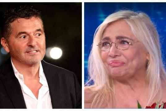Teo Mammucari e Mara Venier, quella lite in diretta tv