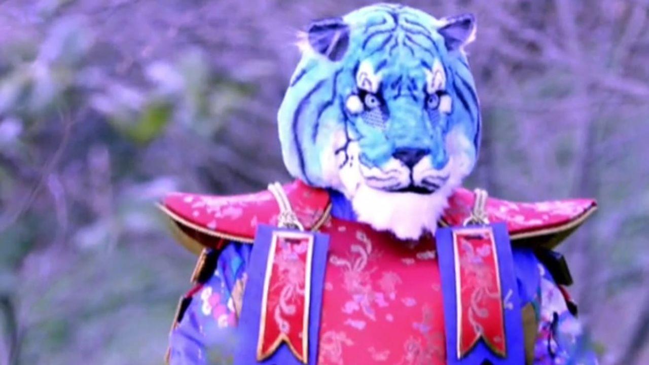 Tigre Azzurra