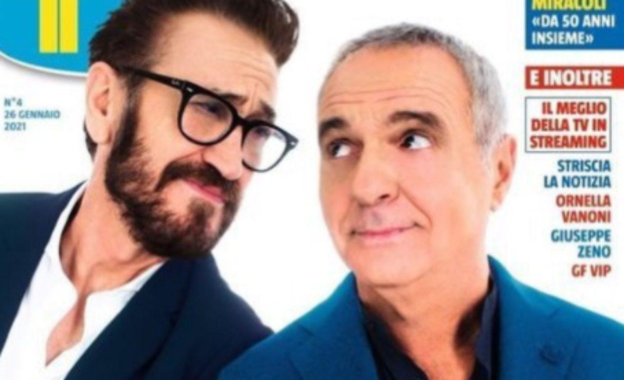 Marco Giallini e Giorgio Panariello