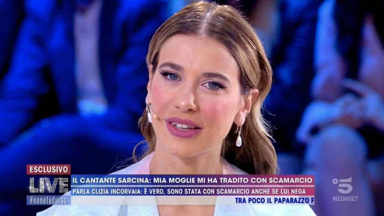 clizia incorvaia ex moglie francesco sarcina