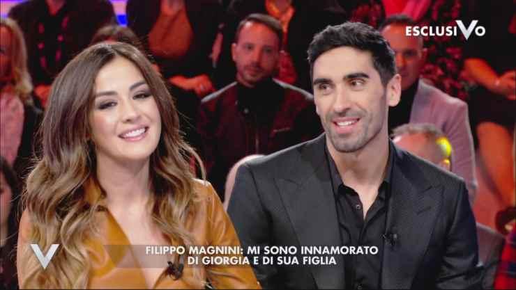 Giorgia Palmas e Filippo Magnini (Mediaset)