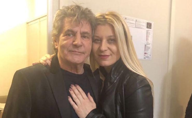 Fausto Leali e Germana Schena