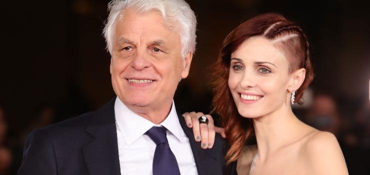 Michele Placido avete mai visto la sua bellissima moglie Federica?