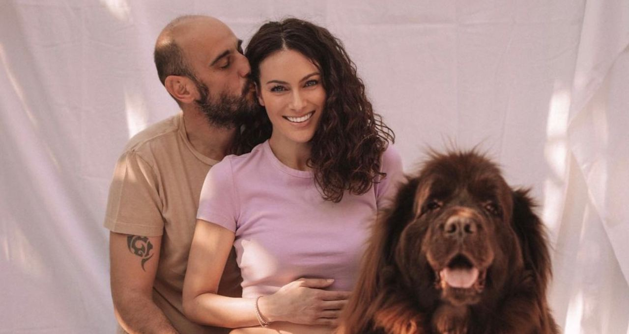 Paola Turani incinta