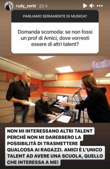 """""""Non mi interessano altri talent"""", Rudy Zerbi niente dubbi: è nel posto giusto"""
