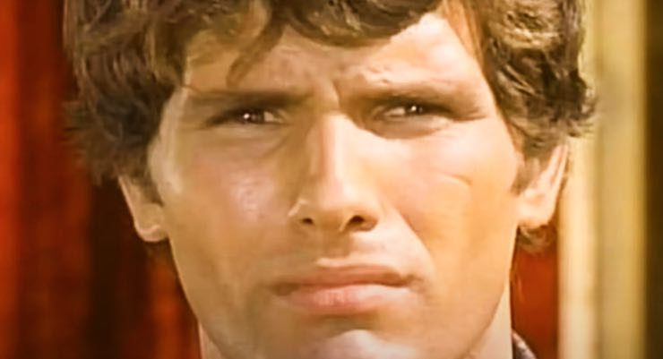 Giuliano Gemma, la cicatrice - icona che ha portato per tutta la vita