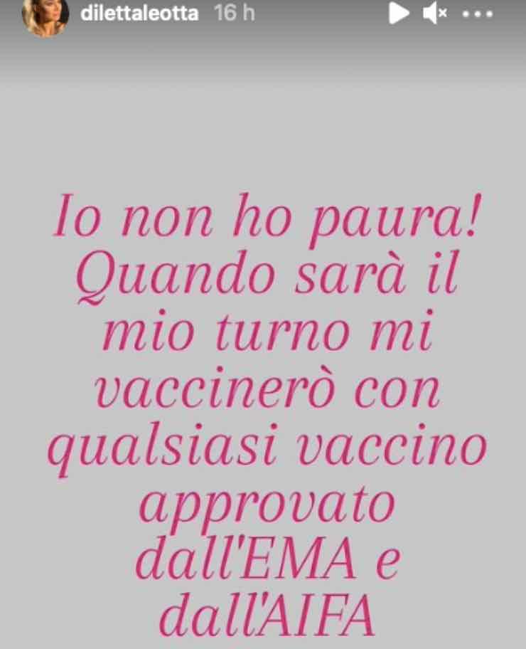 """Diletta Leotta """"Non ho paura"""": prende posizione, messaggio chiaro"""
