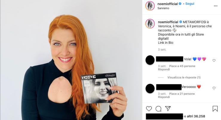 Noemi cantante da record: sapete cosa sognava di fare da piccola?