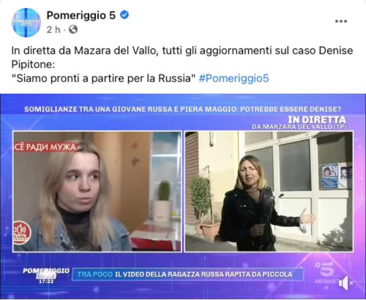 Denise Pipitone, ipotesi tra dubbi e speranze: è Olesya Rostova?