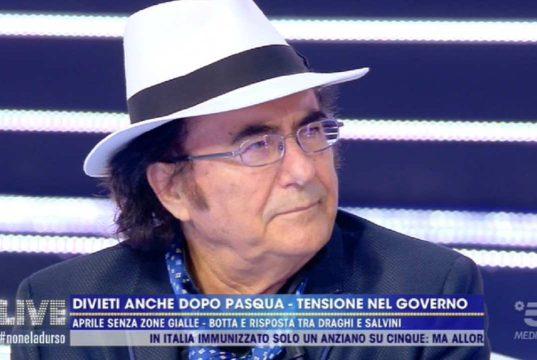 """Albano contro Fedez: """"Sono sconcertato"""". E poi la rivelazione del desiderio su Romina e Loredana…"""