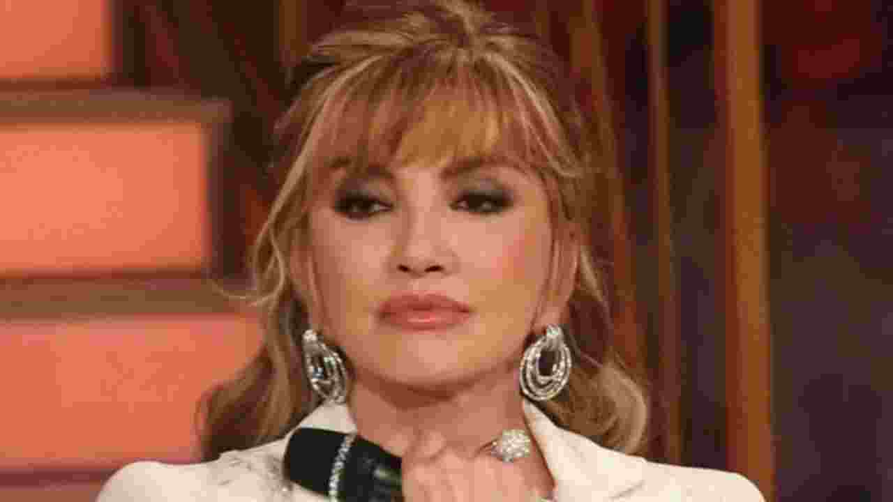 milly carlucci lacrime
