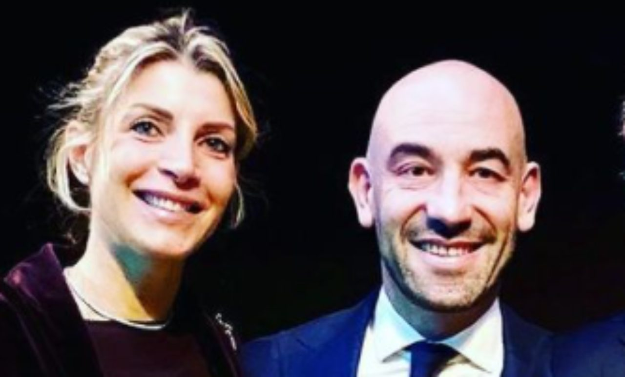 Matteo Bassetti e Maria Chiara Milano Vieusseux (Instagram)