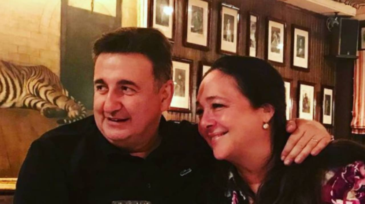 Roberto Giacobbo e Irene Bellini (Instagram)