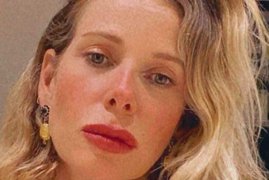 """Alessia Marcuzzi non nasconde il suo dispiacere: """"Lui la mia prima cotta"""""""