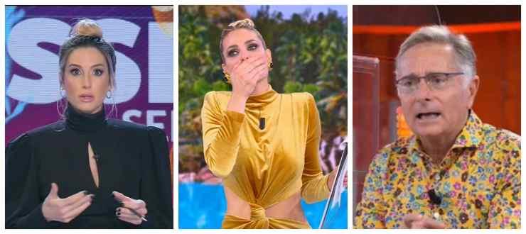 Giorgia Rossi, Ilary Blasi e Paolo Bonolis
