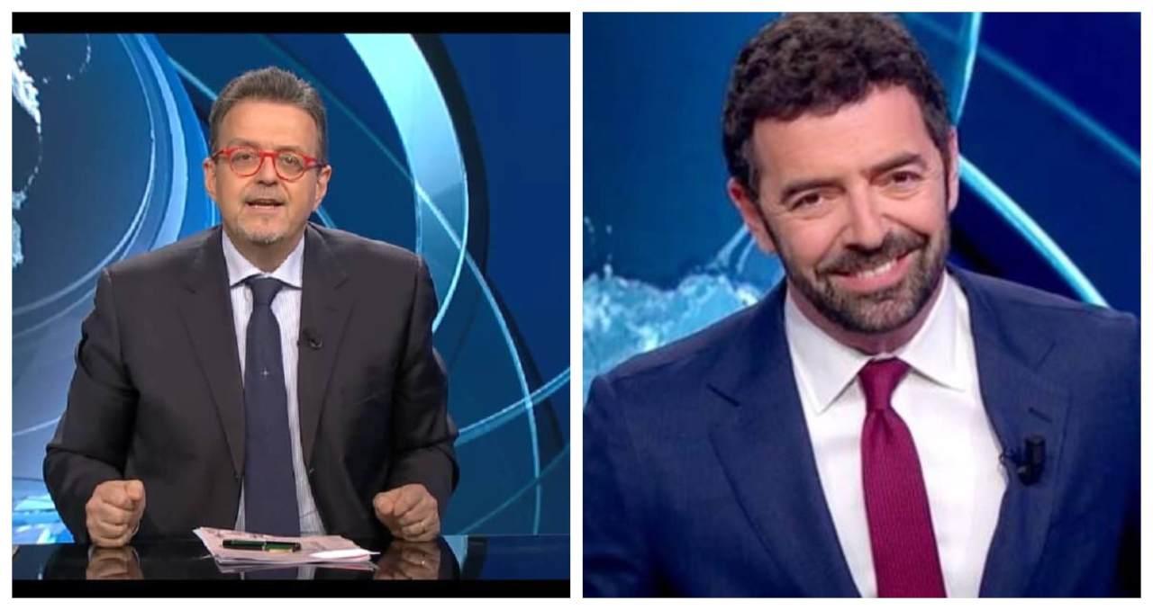 Alberto Matano e Marco Frittella (Rai)