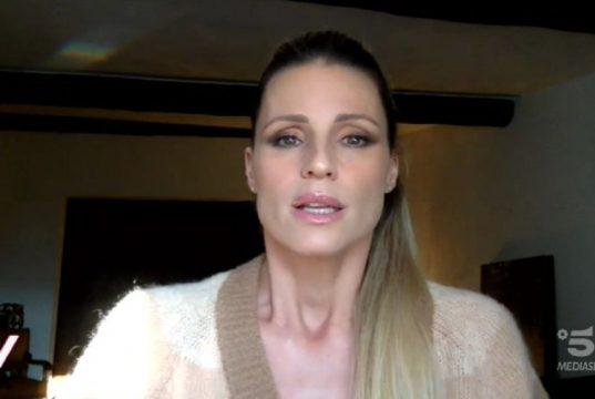 Michelle Hunziker |  sfogo in diretta |  la rabbia prende il sopravvento