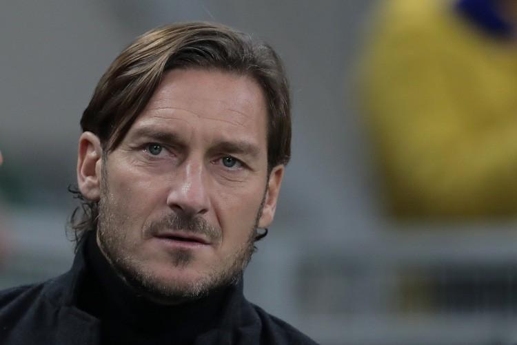 Francesco Totti Ilary Blasi Maria Mazza