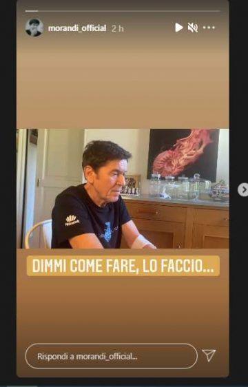Gianni Morandi (Instagram)