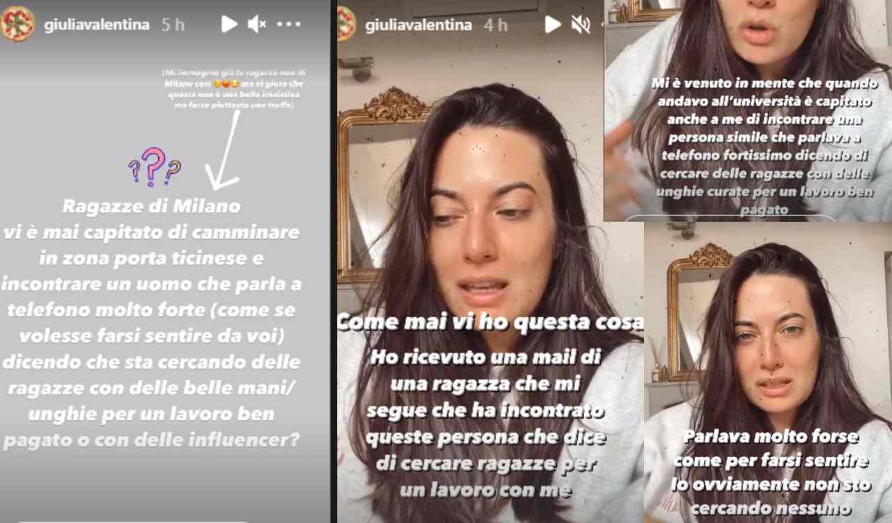 Giulia Valentina truffa