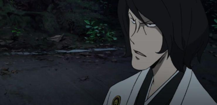 Lupin the IIIrd Ishikawa Goemon getto di sangue
