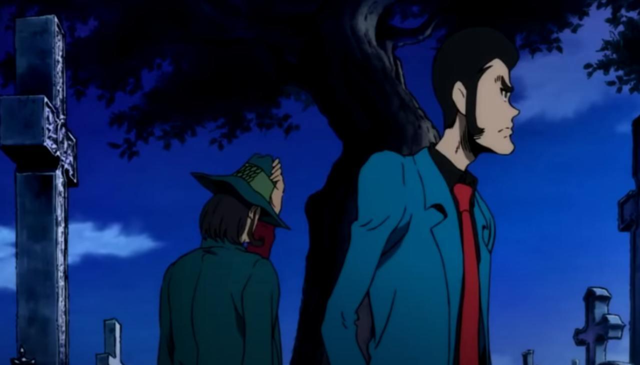 Lupin the IIIrd la lapide di Jigen Daisuke