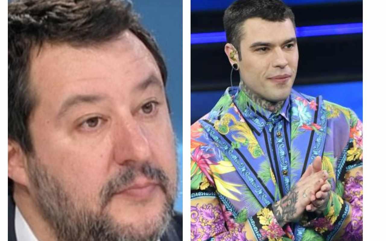 Matteo Salvini scrive a Fedez