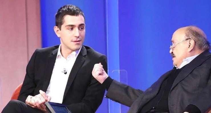 Maurizio Costanzo e Tommaso Zorzi