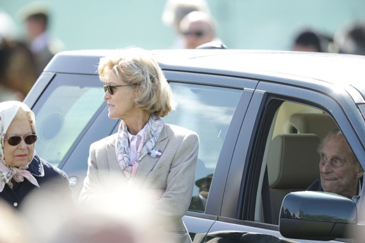 Penelope Knatchbull, amica Principe Filippo funerale