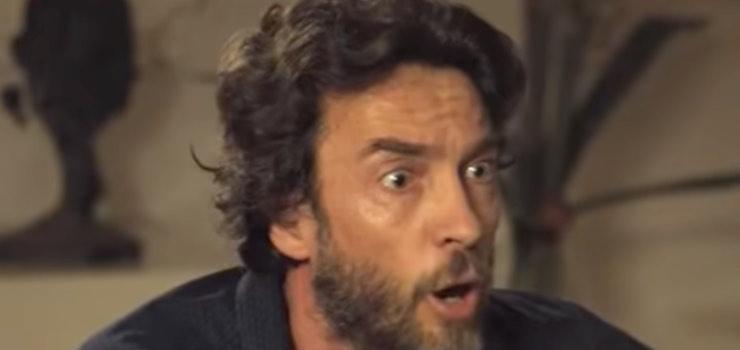 """Alessio Boni che lavoro faceva prima? """"È stata un'esperienza bestiale"""""""