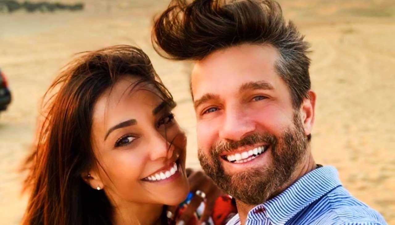 Juliana Moreira e Edoardo Stoppa: quella dedica che svela la felicità