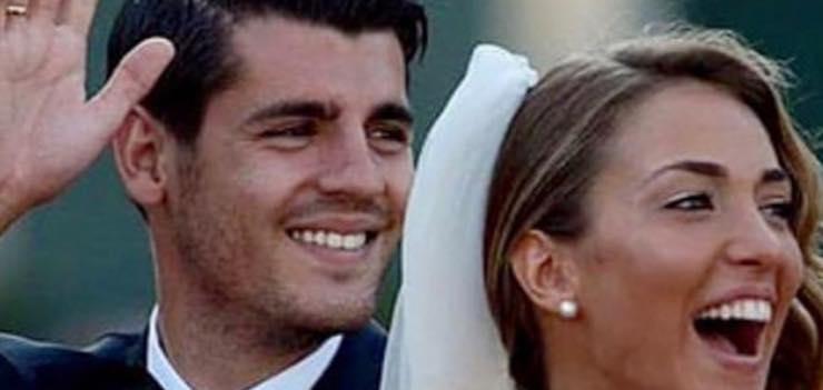 """Alice Campello il grande amore con Morata: """"noi due siamo molto simili"""""""