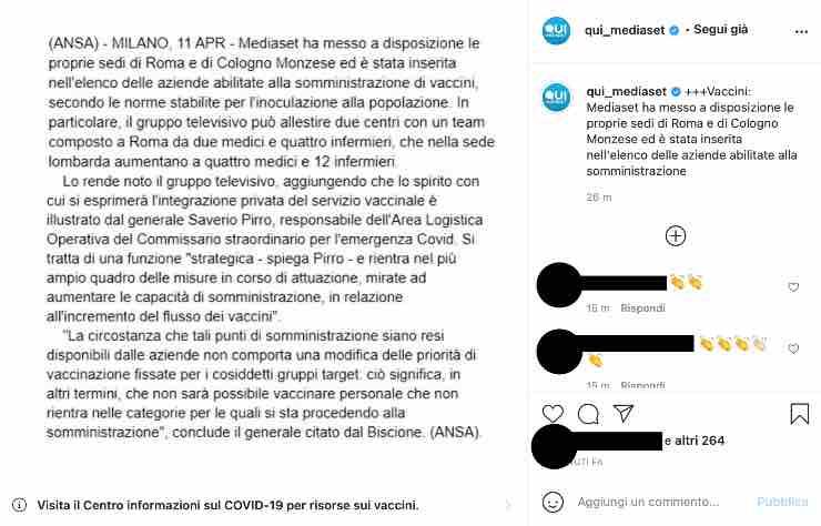Mediaset sorprende: ecco cosa farà l'azienda a Roma e Cologno