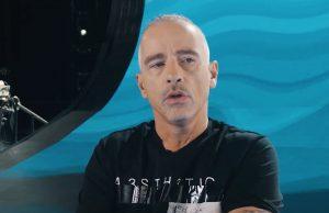 Eros Ramazzotti ricorda l'artista scomparso: messaggio commovente
