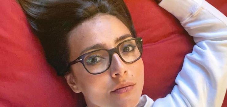 """Ambra Angiolini, così mai vista per un giorno speciale: """"E poi ti svegli"""""""