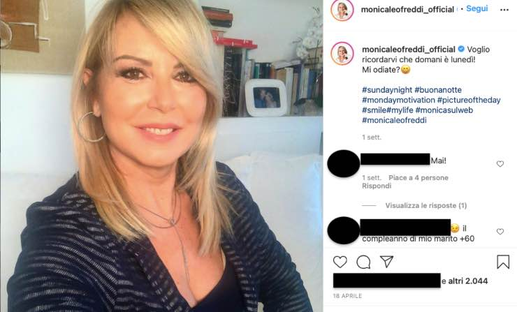 Monica Leofreddi, quell'amore con Venditti: la canzone a lei dedicata