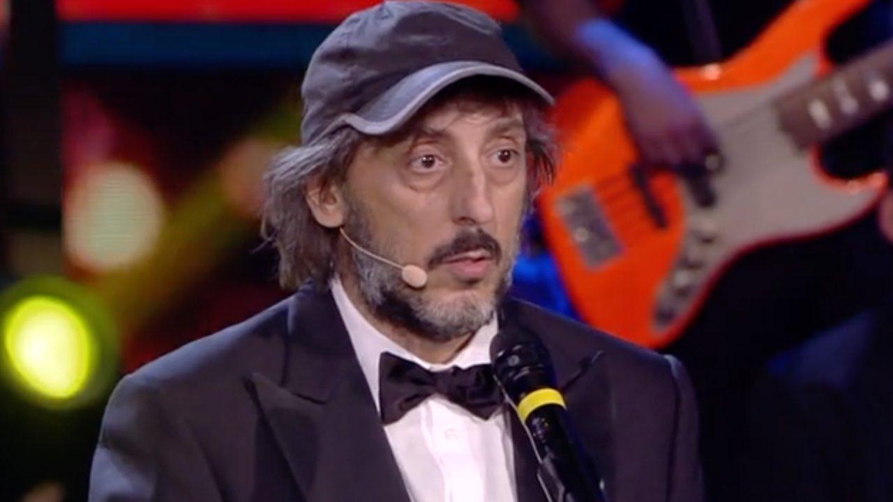 Massimo Ceccherini, avete mai visto sua moglie Elena? Sono molto legati