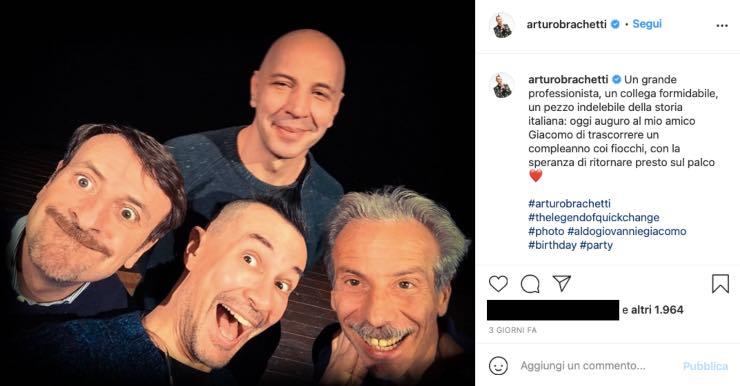 Arturo Brachetti, sapete cosa fa in piena notte? Curiosità poco nota