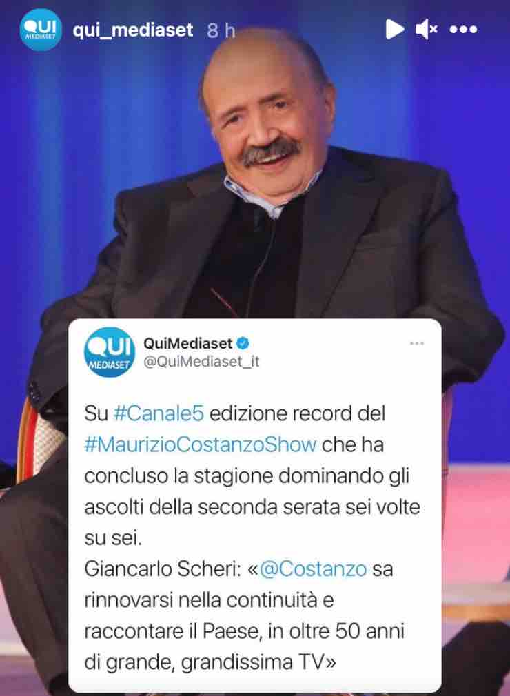 """Maurizio Costanzo ancora un record incredibile: """"Sei su sei"""""""