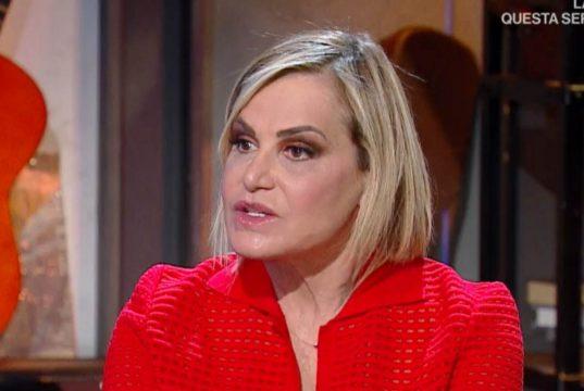 """Simona Ventura commossa: """"Battiato il più grande poeta contemporaneo"""""""