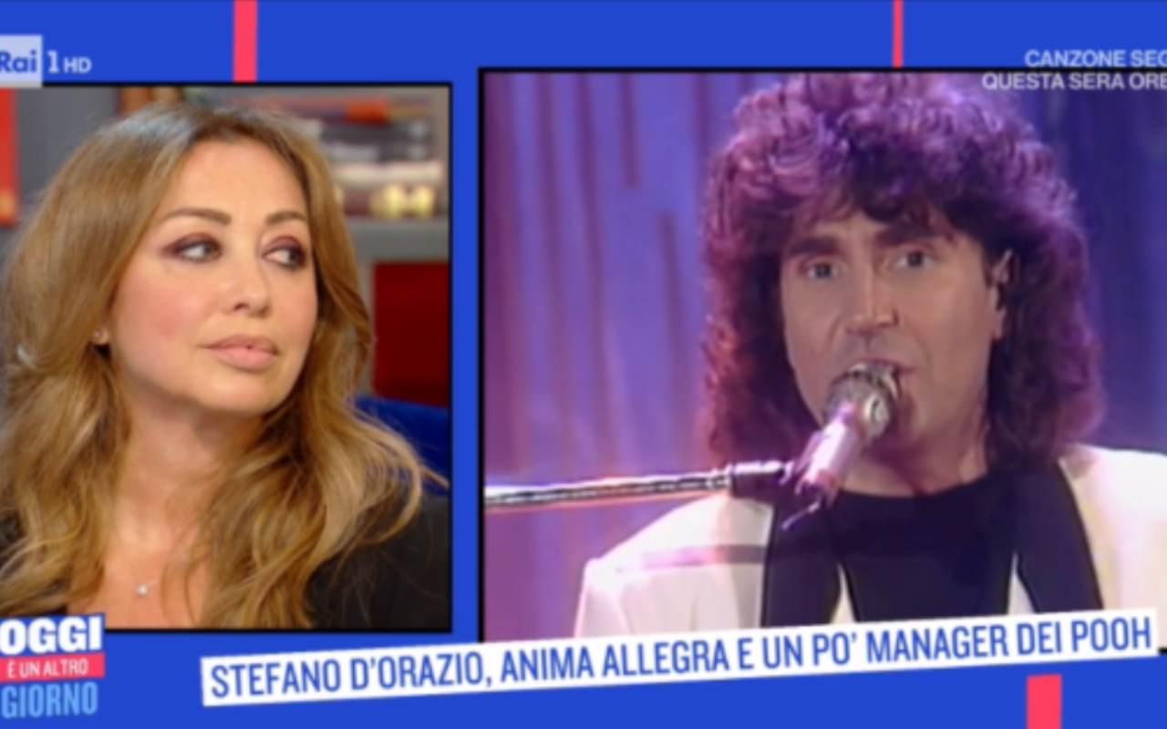 Tiziana Giardoni moglie Stefano D'Orazio
