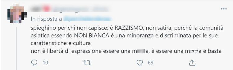 Twitter Razzismo Michelle Hunziker (2)_censored