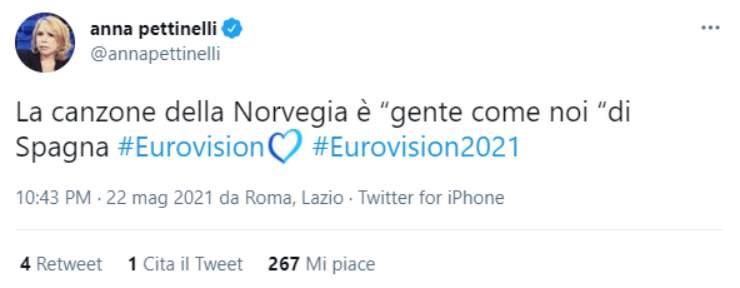 Anna Pettinelli (Twitter)