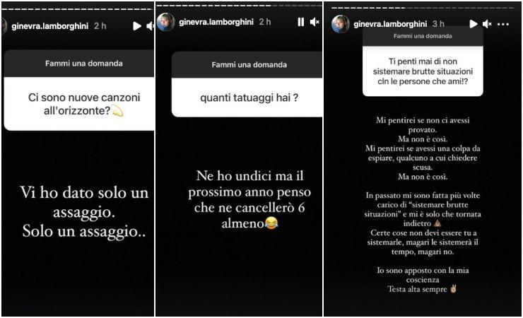 """Ginevra Lamborghini non si pente: """"a posto con la mia coscienza"""""""