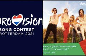 Eurovision 2021 dove vederlo? Classifica, votazioni, tutto sull'evento