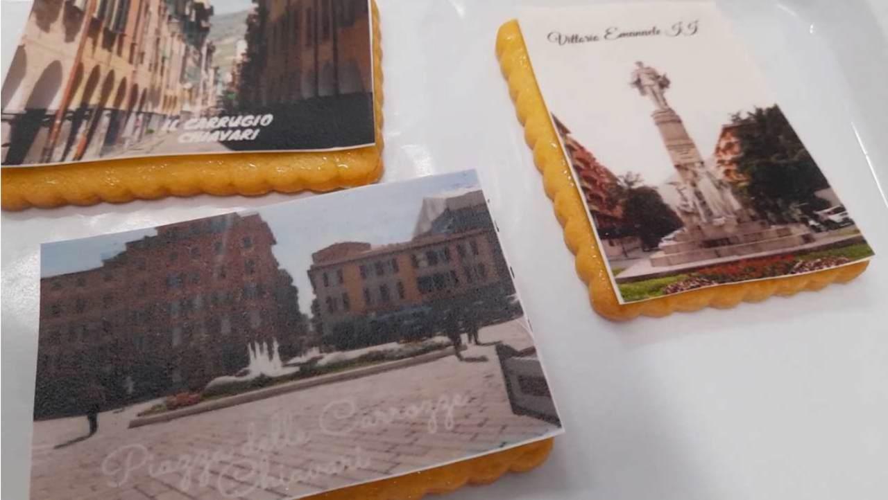 Biscotti a cartolina
