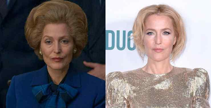 Margaret Thatcher – Gillian Anderson